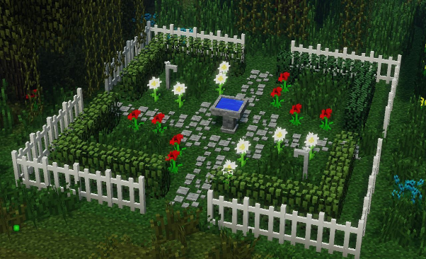 Garden Ideas Minecraft Farm